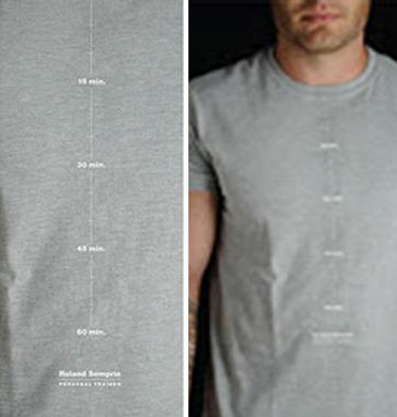 Tシャツになにか文字がプリントされています。どんな意味があるのでしょうか?